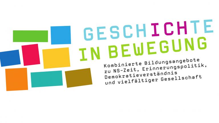 Logo Geschichte in Bewegung