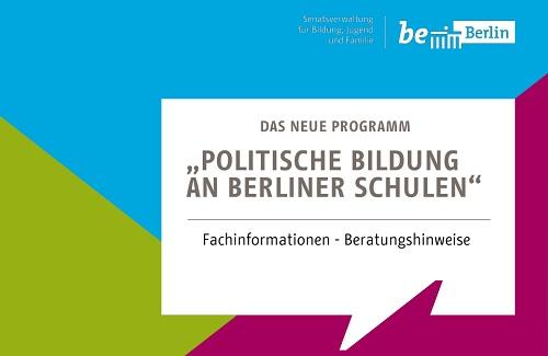 Programm Politische Bildung an Berliner Schulen